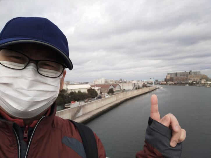 浦安橋から見たニューポート江戸川
