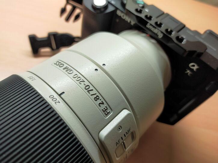 SONY FE 70-200mm F2.8 GM OSS SEL70200GM